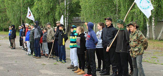Klubo Gintis instruktorių išvyka į vaikų vasaros stovyklą