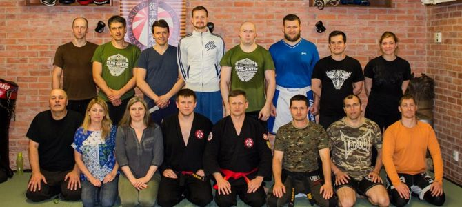 Hanshi Pawel Handzlik seminaras Vilniuje