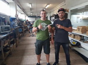 Egidijus Stankevičius ir Andrius Tričius