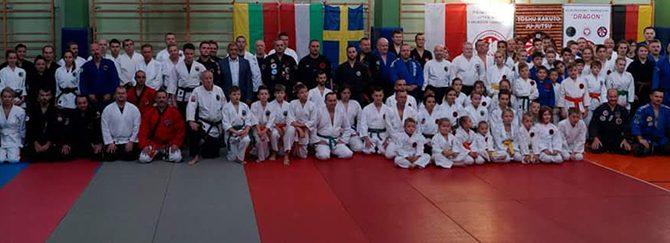 Spalio 6 d. vykstame į Tarptautinį Ju – Jitsu seminarą  Žyviece (Lenkija)