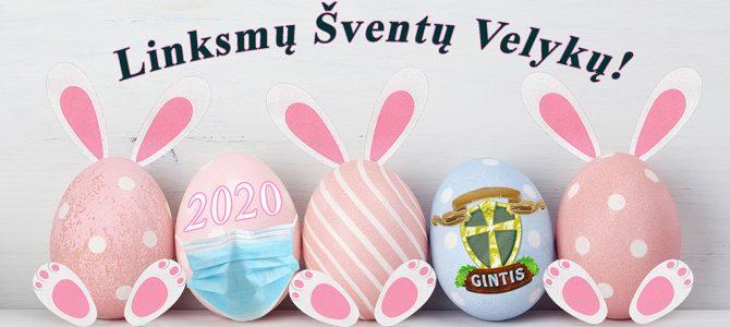 Linksmų Šventų Velykų!